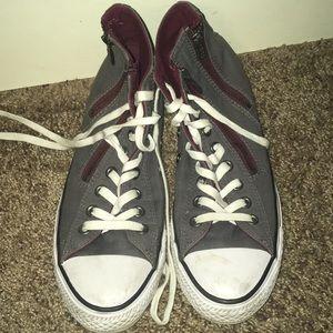 Size 9 Dark Gray Converse